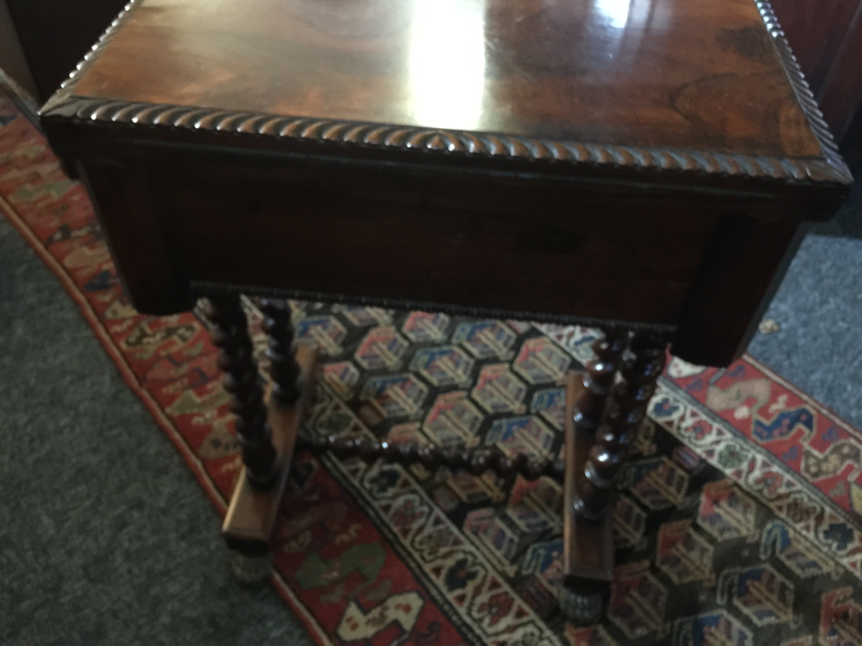 A Regency rosewood games table - Image 4 of 13