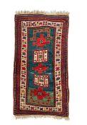 A Karacher prayer rug circa 1900
