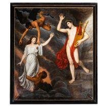 Pierre Joseph Antoine (Belgium 1840-1913), Orpheus and Eurydice