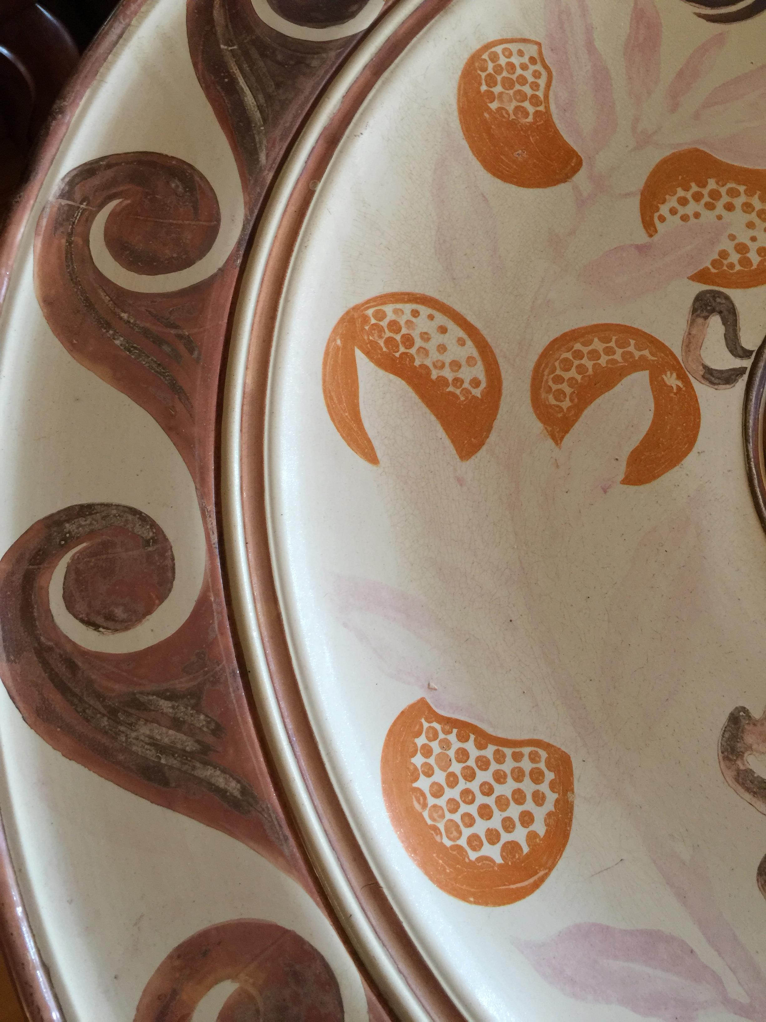 A monumental Victorian Arts & Crafts lustre wall charger by Maw & Co, Broseley - Image 10 of 24