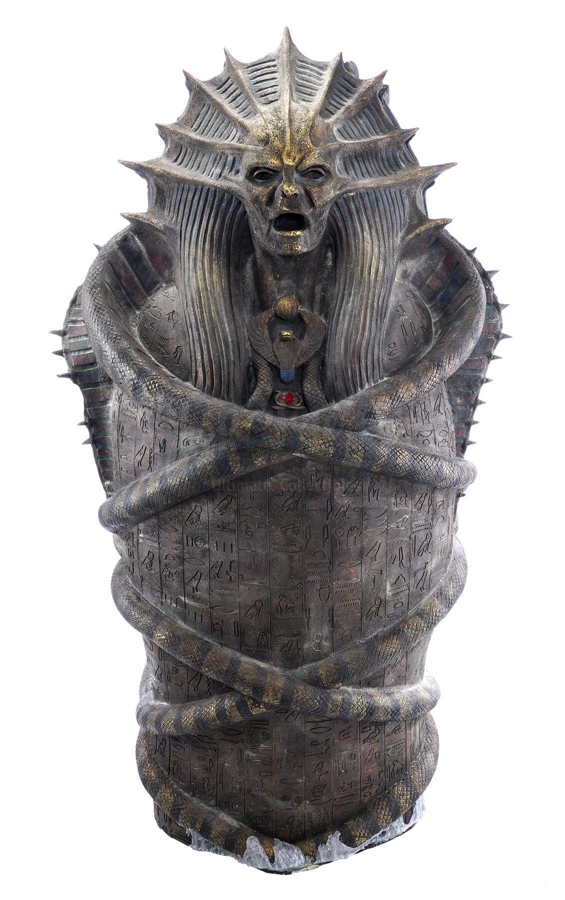 Lot # 904: MUMMY, THE - Oversized Ahmanet (Sofia Boutella) Sarcophagus Marketing Display