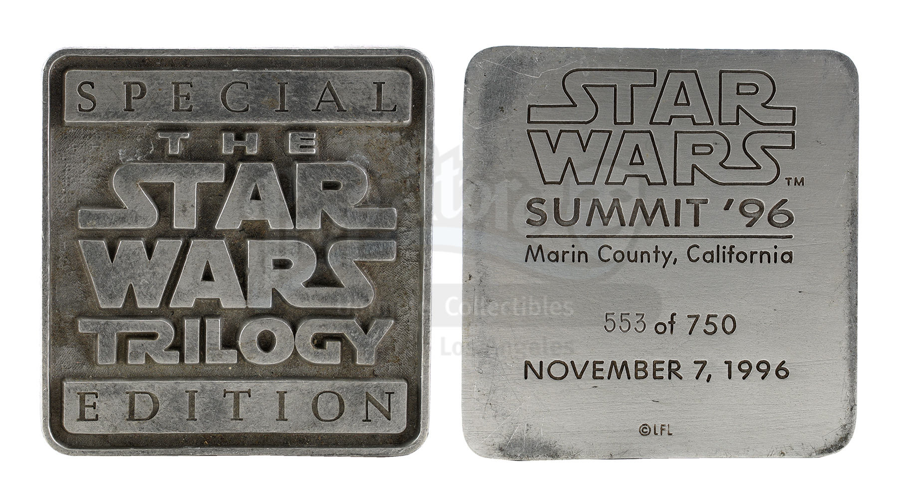 """Lot # 1116: VARIOUS PRODUCTIONS - 1996 Star Wars Summit """"The Star Wars Trilogy Special Edition"""" Pape"""