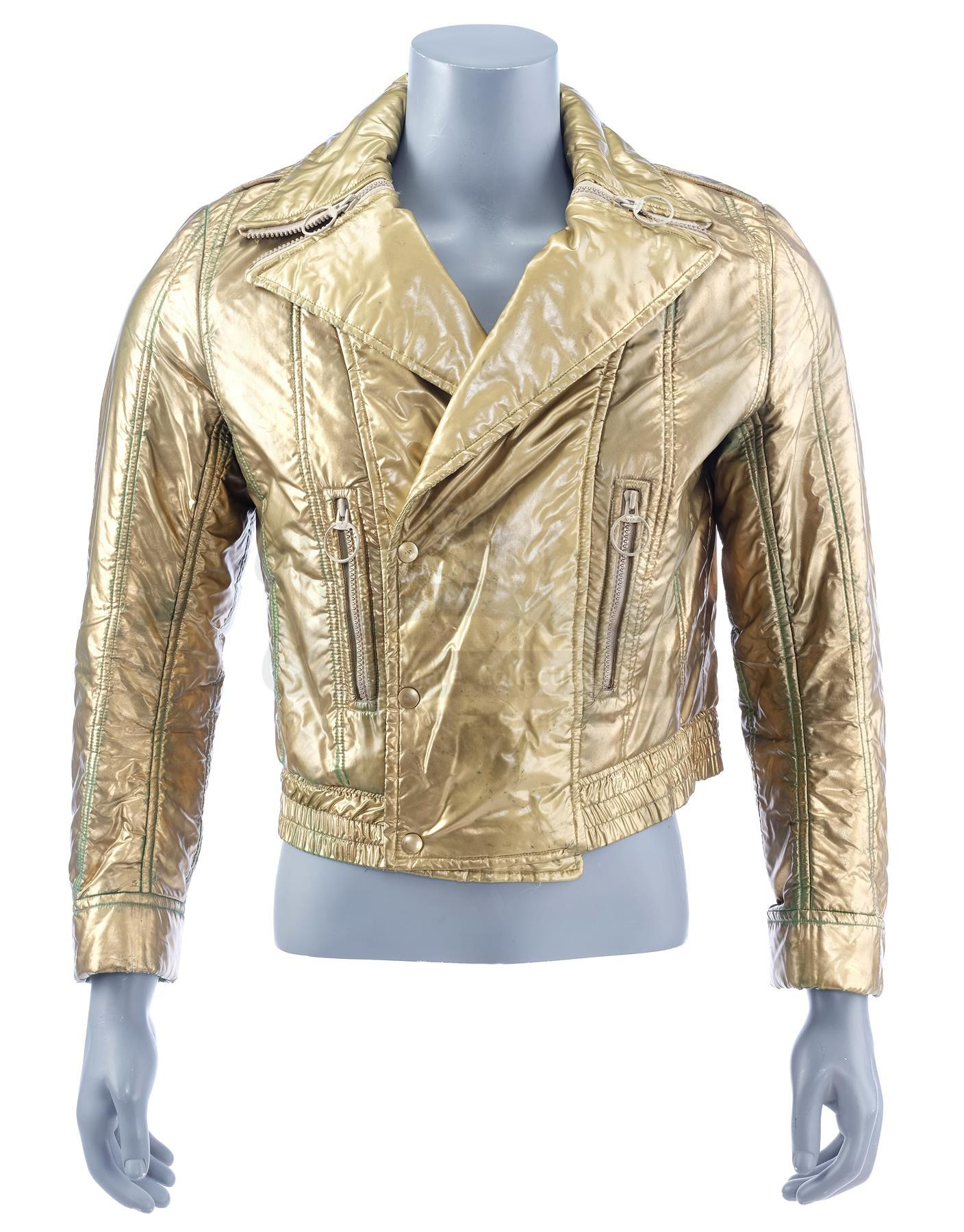 Lot # 46: BUCK ROGERS IN THE 25TH CENTURY - Captain Buck Rogers' (Gil Gerard) Gold Jacket