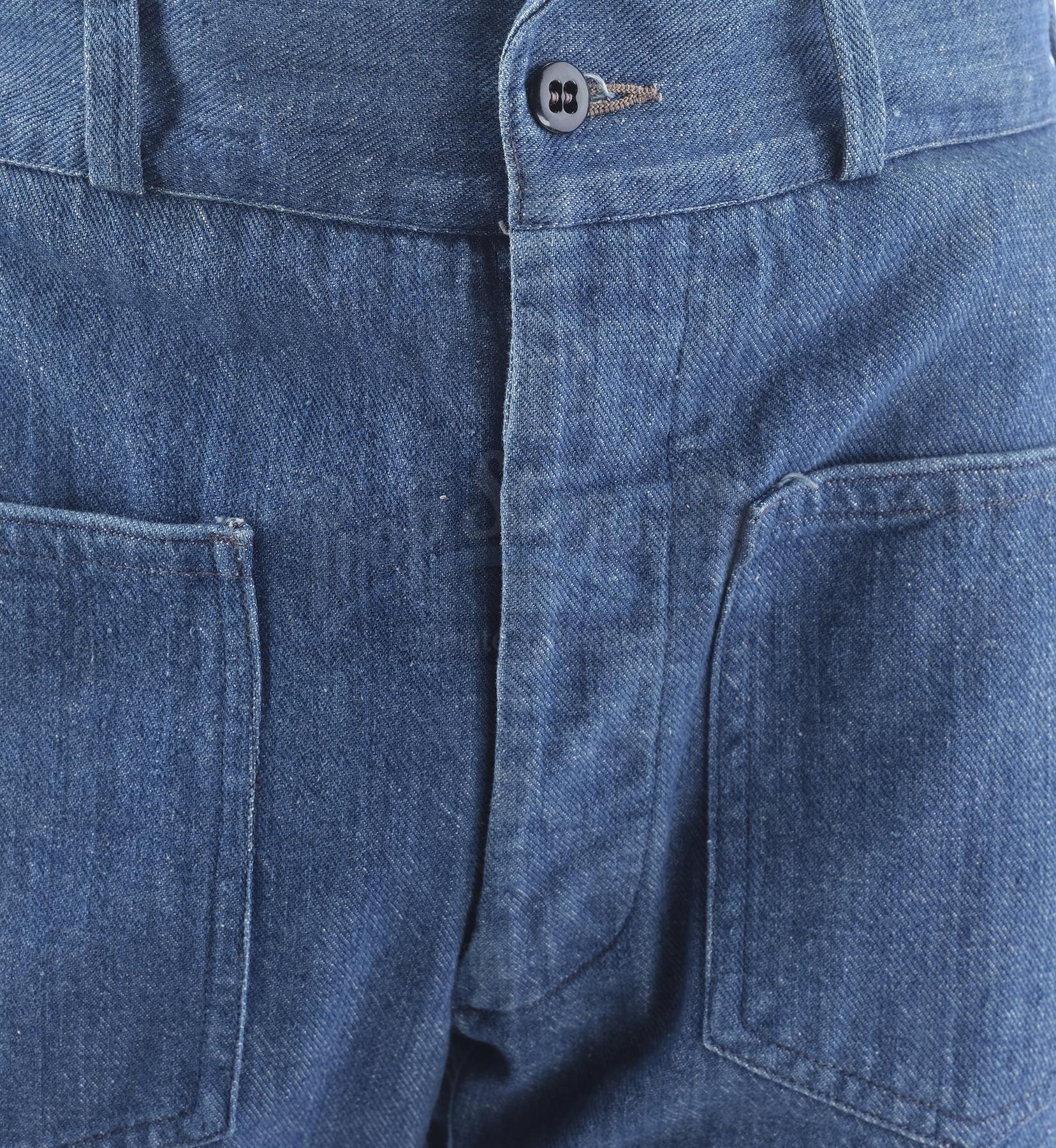 Lot # 1005: THE SAND PEBBLES - Jake Holman's (Steve McQueen) Jeans - Image 6 of 11