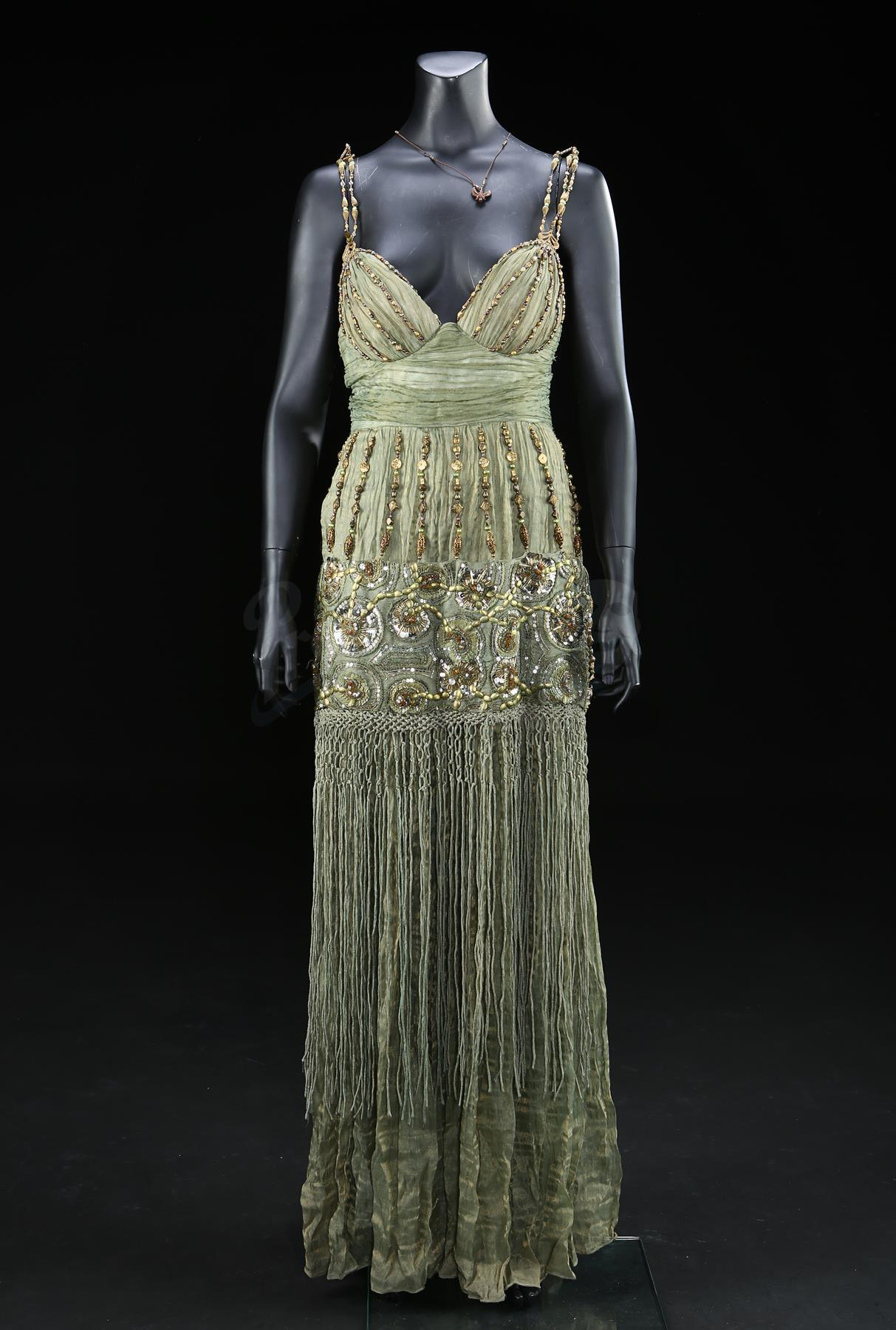Lot # 702: GODS OF EGYPT - Zaya's Coronation Dress and Horus Necklace