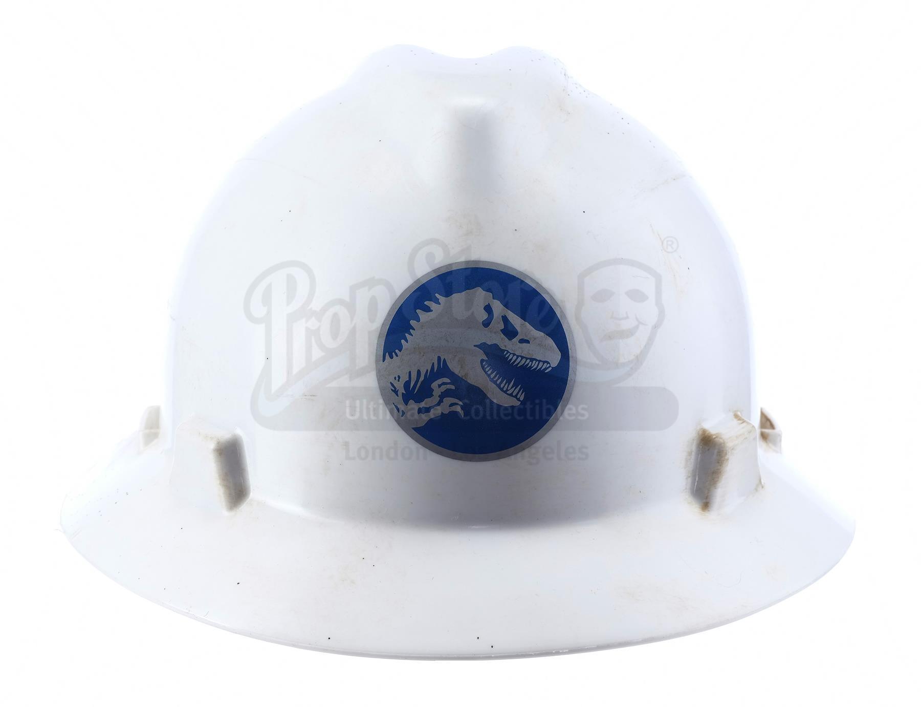Lot # 812: JURASSIC WORLD - Jurassic World Employee Hard Hat