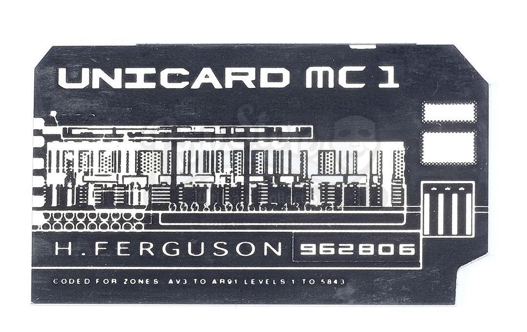 "Lot # 805: JUDGE DREDD - Herman ""Fergie"" Ferguson's (Rob Schneider) Mega-City One Unicard"