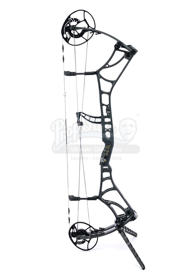 Lot # 216: RAMBO: LAST BLOOD - John Rambo's (Sylvester Stallone) Autographed Compound Bow