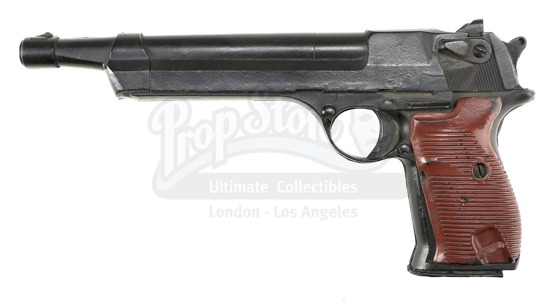 Lot # 979: RED HEAT - Ivan Danko's (Arnold Schwarzenegger) Podbyrin 9.2mm Pistol