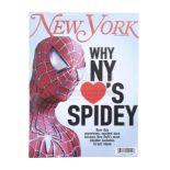 """Lot # 1047: SPIDER-MAN 3 - """"Why NY Loves Spidey"""" New York Magazine"""