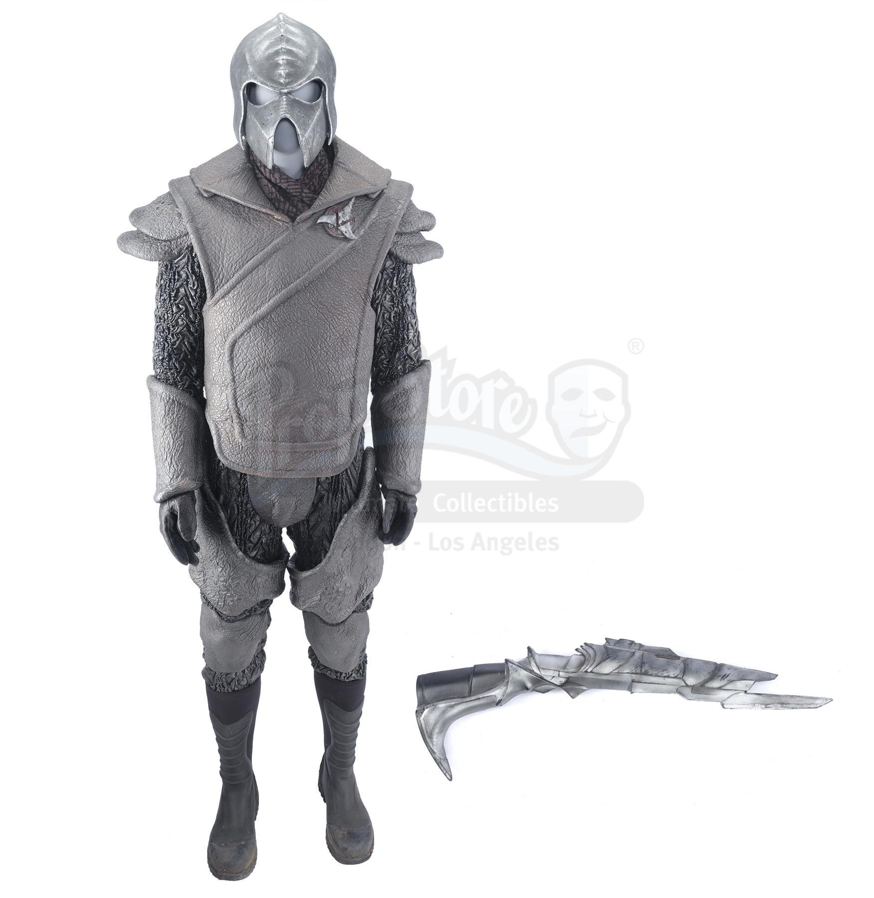 Lot # 260: STAR TREK INTO DARKNESS - Klingon Guard Uniform with Disruptor