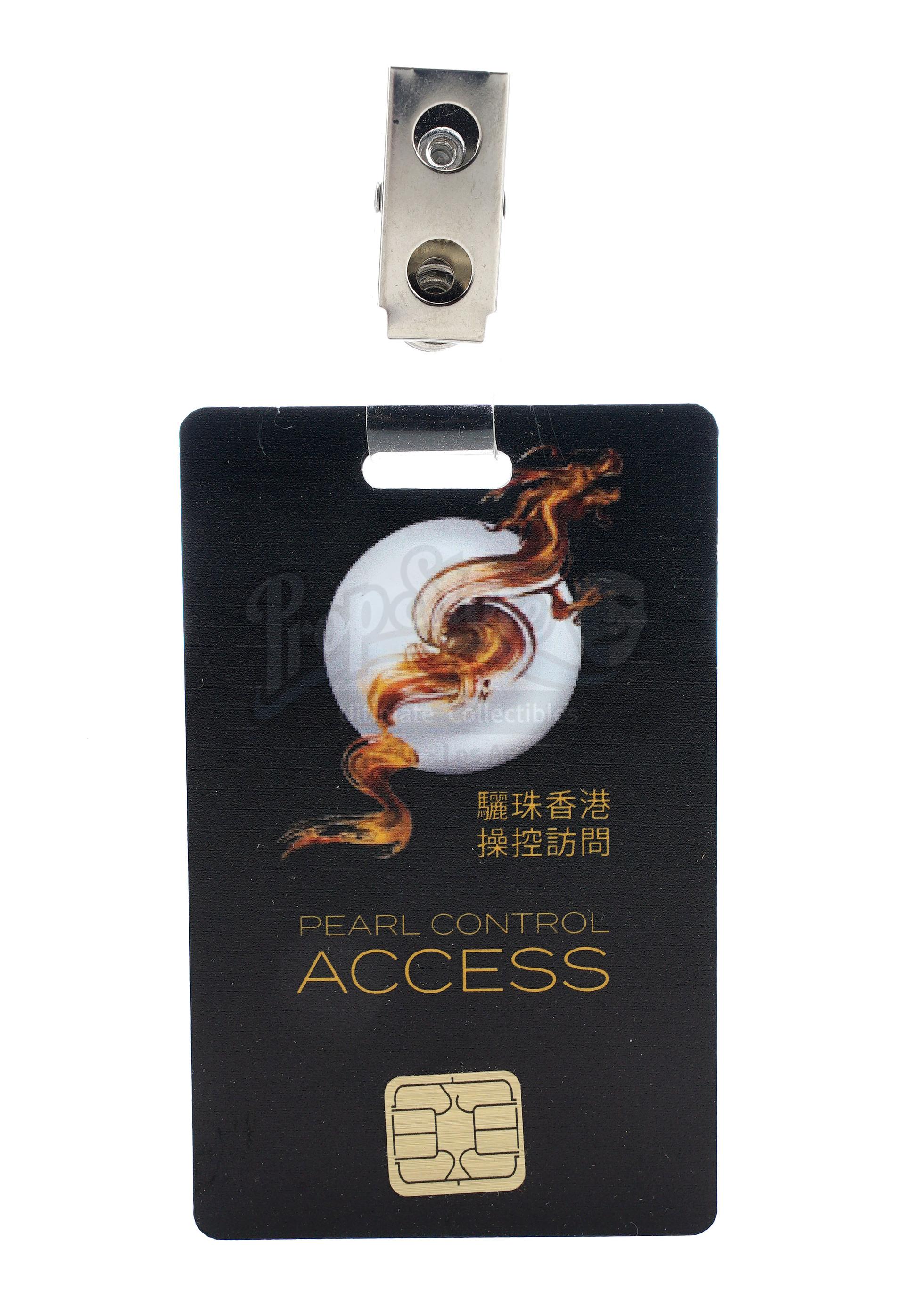 Lot # 1018: SKYSCRAPER - Zhao Long Ji's (Chin Han) Non-Functioning Flash Drive and Pearl Employee Ac - Image 6 of 9