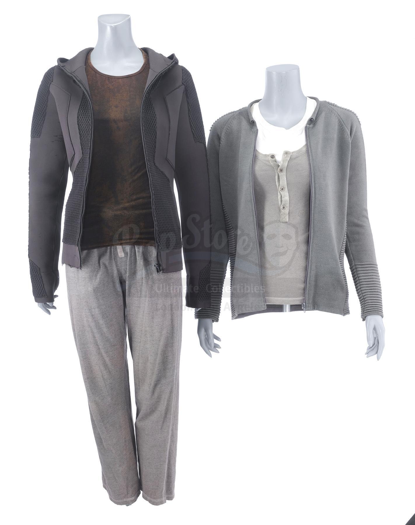 Lot # 624: DIVERGENT - Tris' (Shailene Woodley) Jackets and Costume Lot