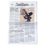 "Lot # 709: GOOD WILL HUNTING - ""Mystery Math Magician"" Newspaper"