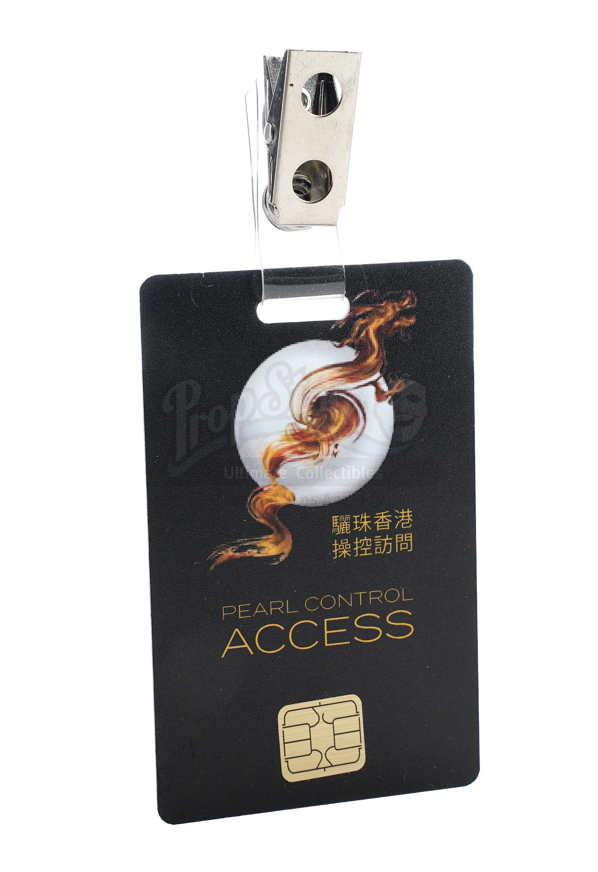 Lot # 1018: SKYSCRAPER - Zhao Long Ji's (Chin Han) Non-Functioning Flash Drive and Pearl Employee Ac - Image 7 of 9