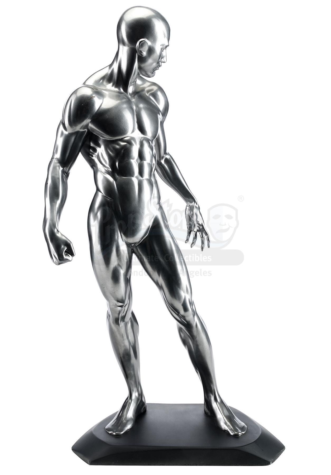 Lot # 660: FANTASTIC 4: RISE OF THE SILVER SURFER - Silver Surfer (Doug Jones) Reference Maquette