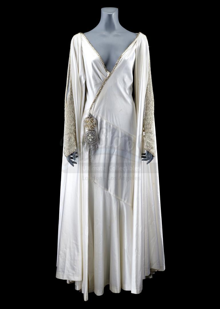 Lot # 77: FLASH GORDON - Dale Arden's (Melody Anderson) White Dress
