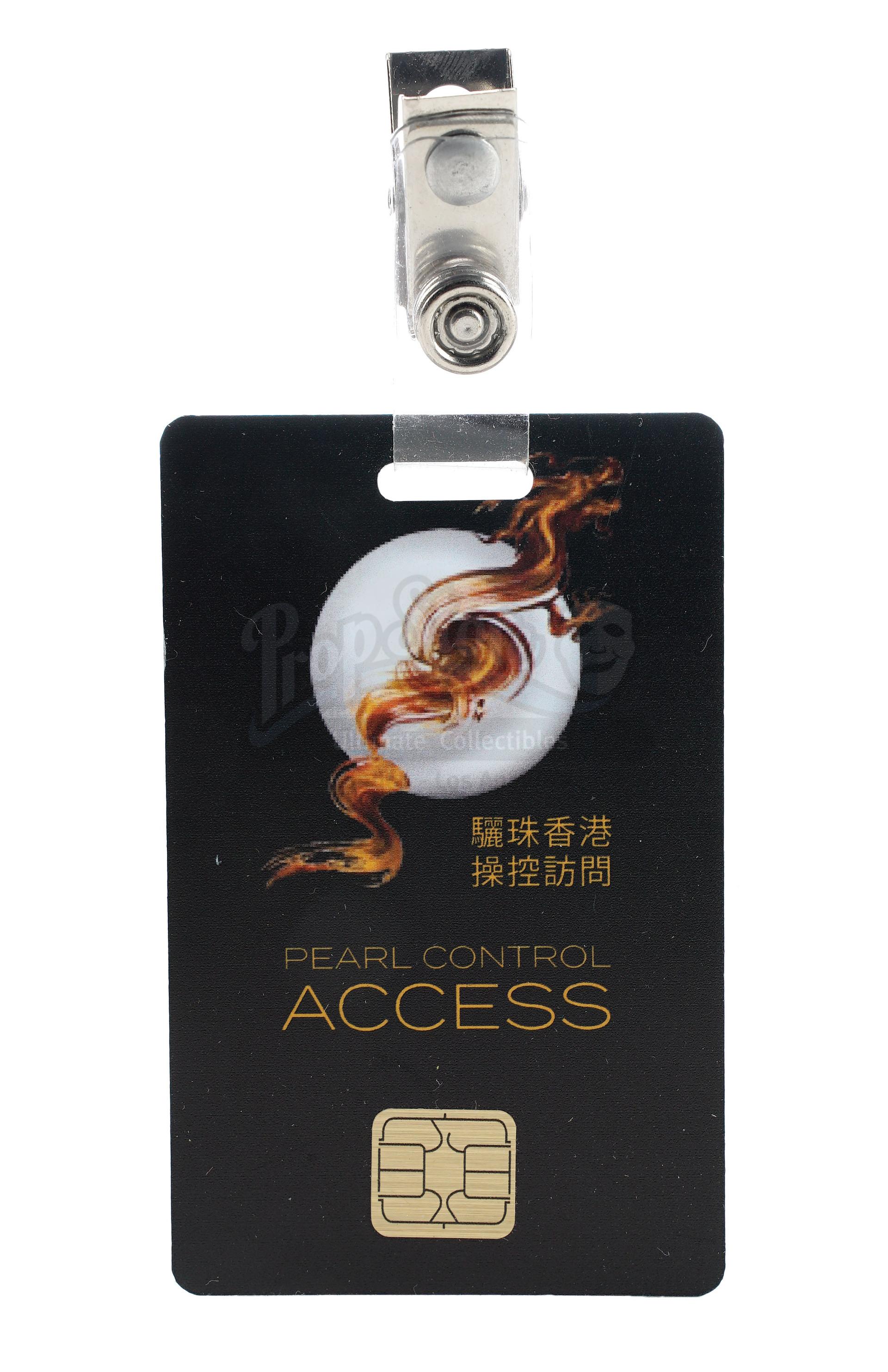 Lot # 1018: SKYSCRAPER - Zhao Long Ji's (Chin Han) Non-Functioning Flash Drive and Pearl Employee Ac - Image 5 of 9