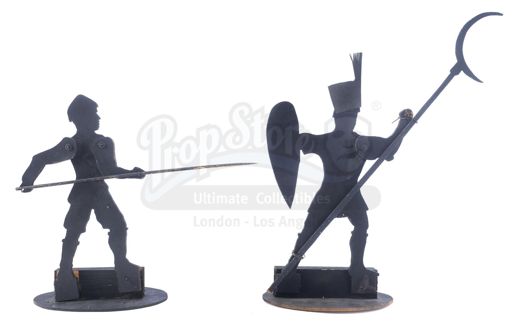 Lot # 545: BRAM STOKER'S DRACULA - Polearmsman and Spearman Theater Puppets
