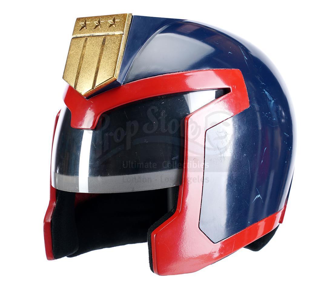 Lot # 149: JUDGE DREDD - Judge Hershey's (Diane Lane) Stunt Helmet
