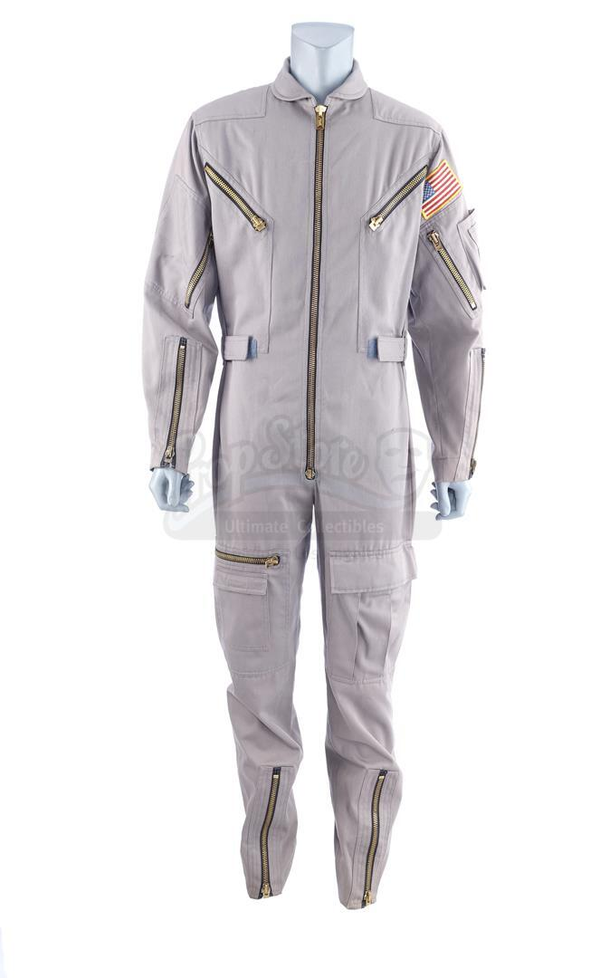 Lot # 441: 2010: THE YEAR WE MAKE CONTACT - Dr. Heywood Floyd's (Roy Scheider) Jumpsuit