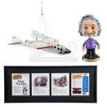 Lot # 915: NIGHT AT THE MUSEUM: BATTLE OF THE SMITHSONIAN - SpaceShipOne Model Miniature, Einstein B