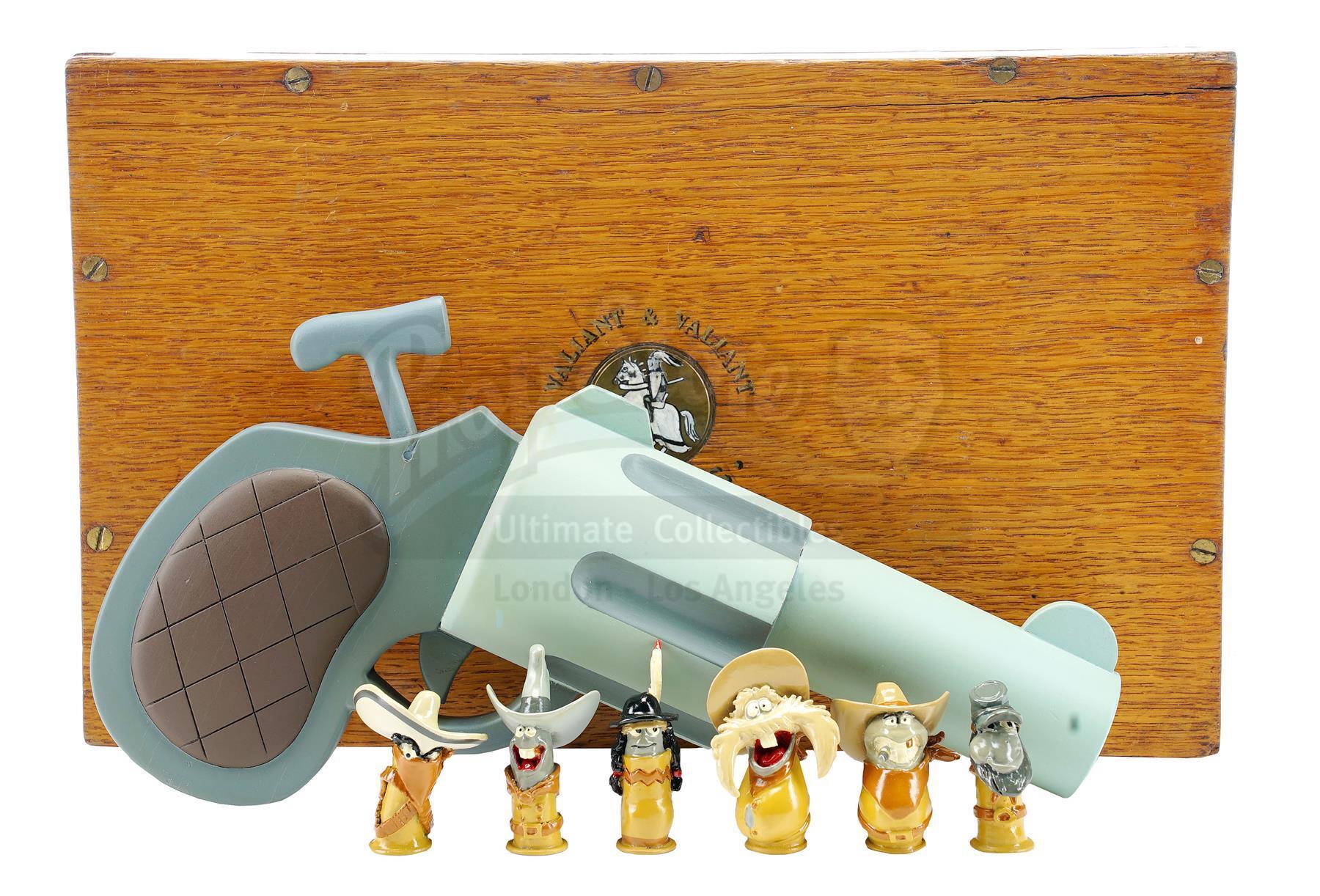 Lot # 424: WHO FRAMED ROGER RABBIT - Eddie Valiant's (Bob Hoskins) Screen-Matched Pistol Case, Toon