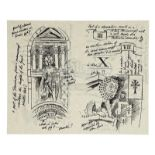 """Lot # 776: INDIANA JONES & THE LAST CRUSADE - Production-Made """"Venice Library"""" Grail Diary Page"""