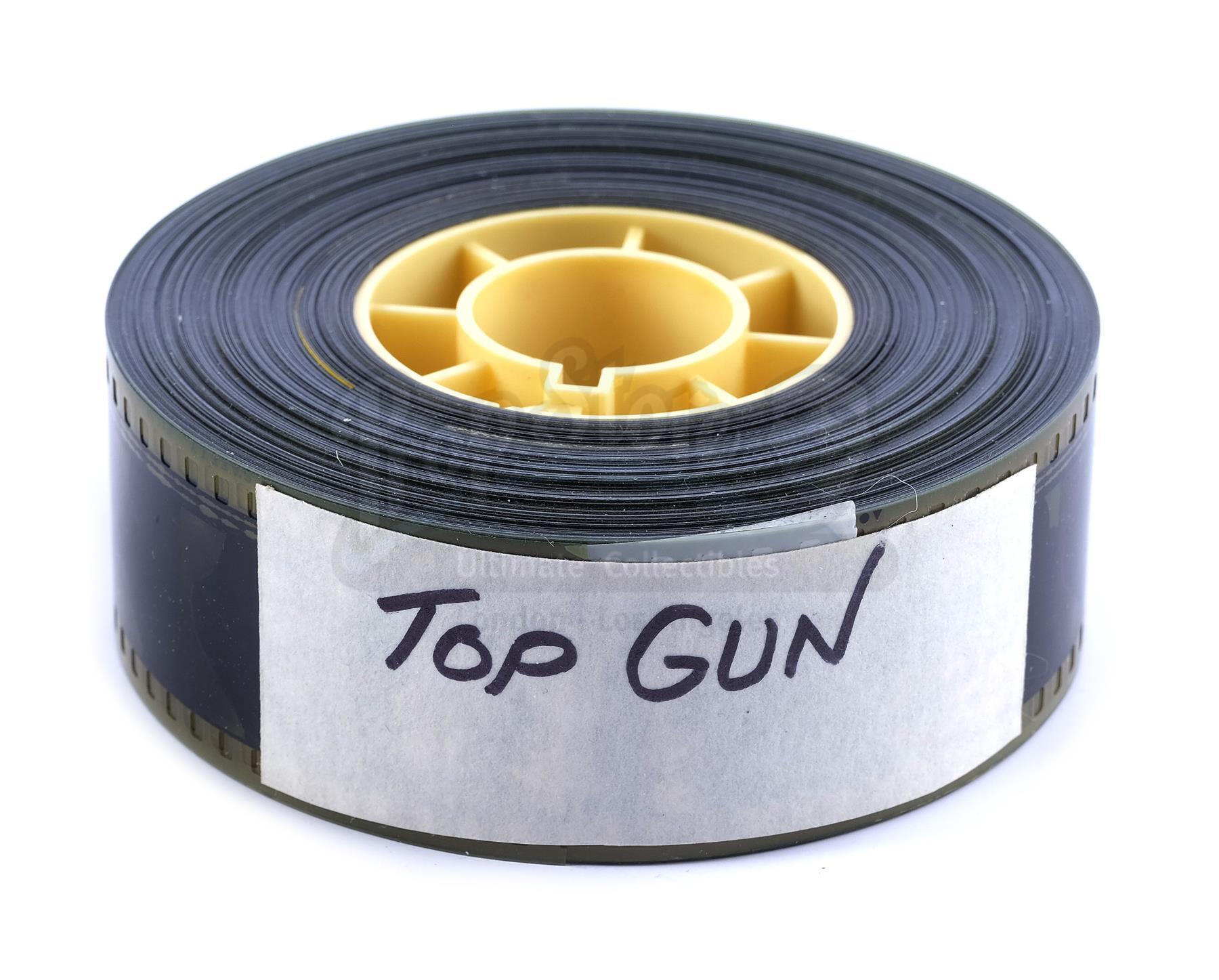 Lot # 1297: TOP GUN - 35mm Trailer Reel