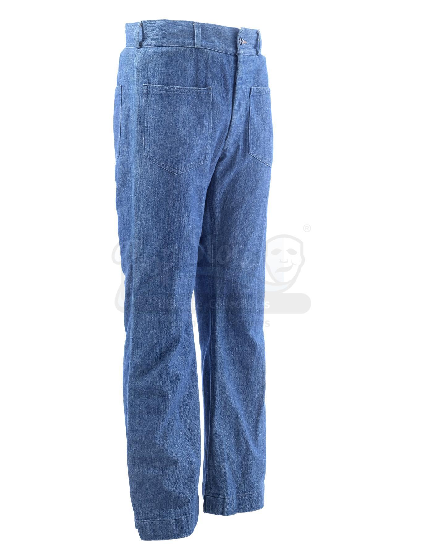Lot # 1005: THE SAND PEBBLES - Jake Holman's (Steve McQueen) Jeans - Image 3 of 11