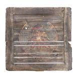Lot # 544: BRAM STOKER'S DRACULA - Dracula's (Gary Oldman) Marked Cargo Panel