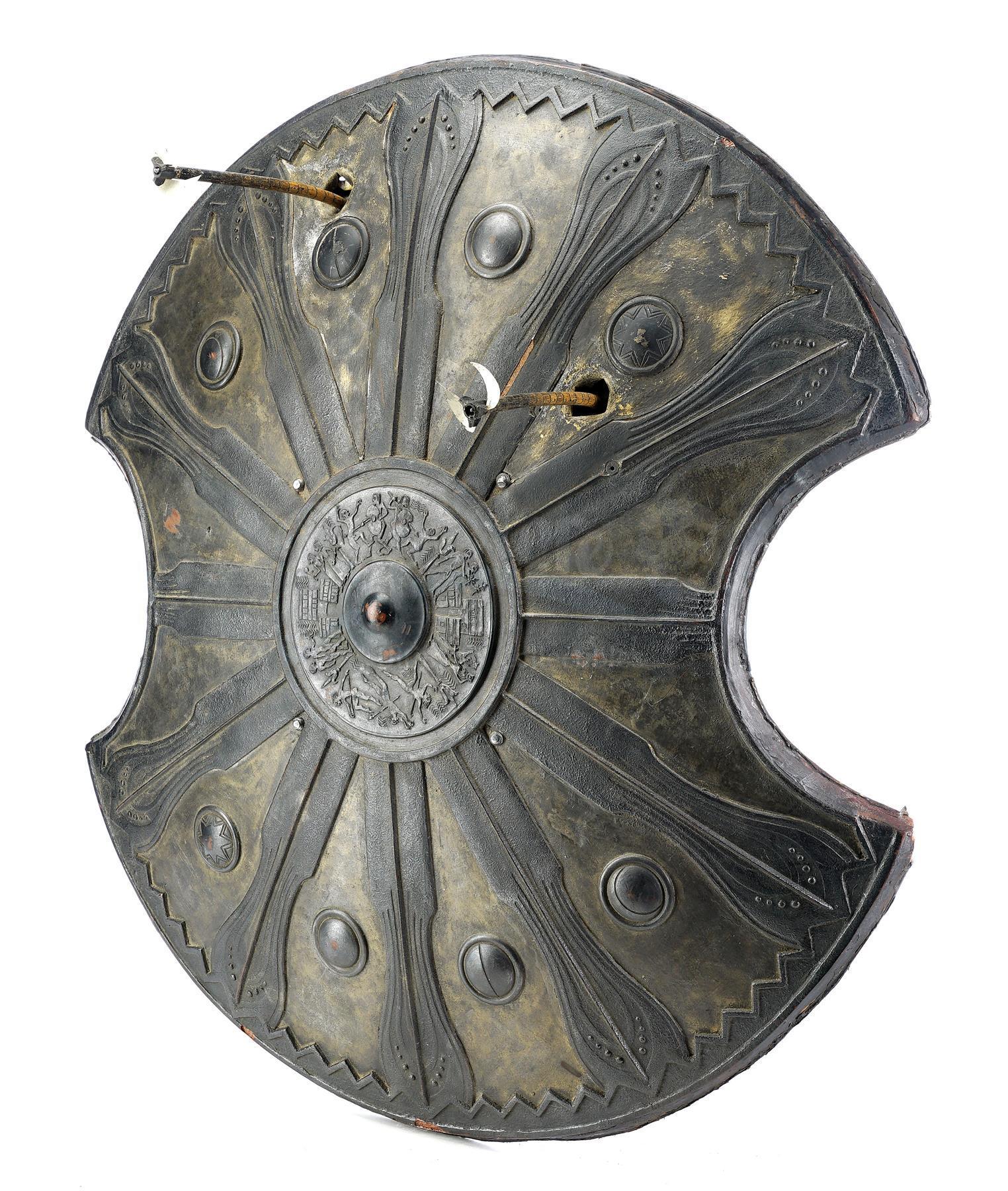 Lot # 395: TROY - Achilles' (Brad Pitt) SFX Shield