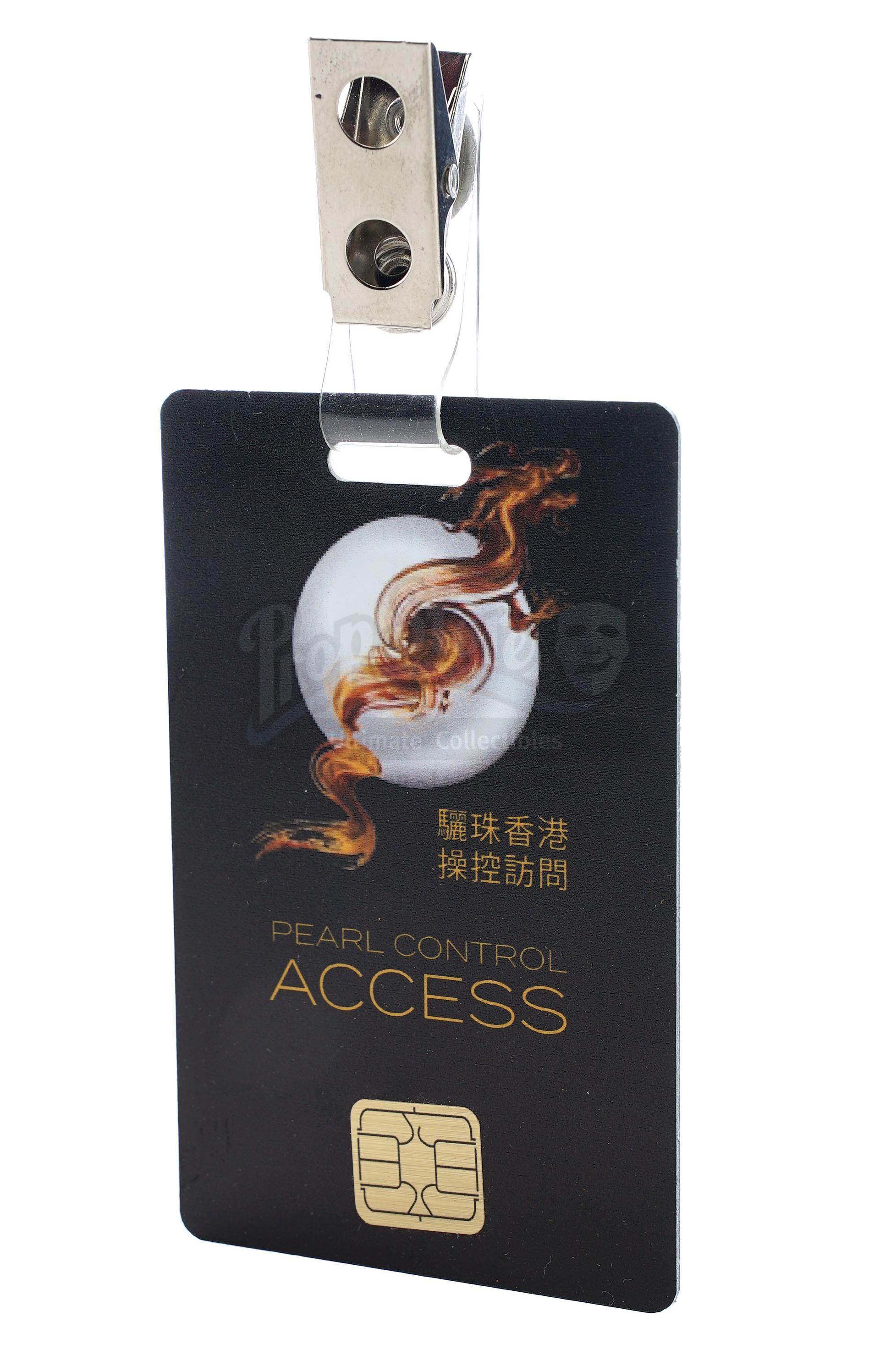 Lot # 1018: SKYSCRAPER - Zhao Long Ji's (Chin Han) Non-Functioning Flash Drive and Pearl Employee Ac - Image 8 of 9