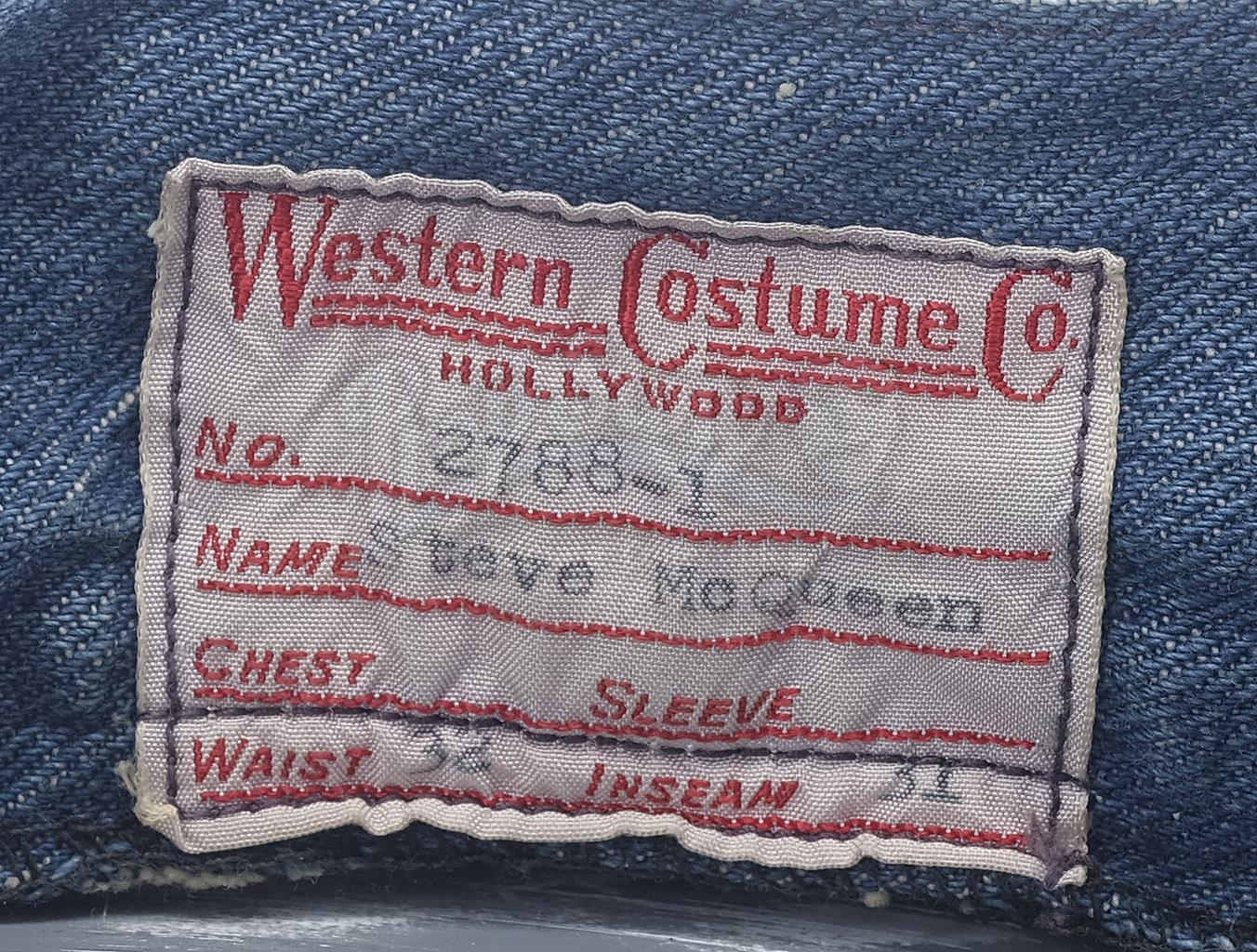 Lot # 1005: THE SAND PEBBLES - Jake Holman's (Steve McQueen) Jeans - Image 7 of 11