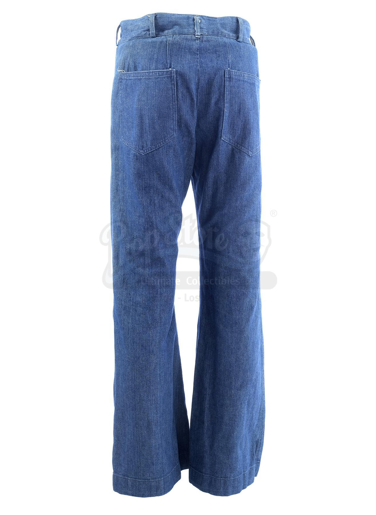 Lot # 1005: THE SAND PEBBLES - Jake Holman's (Steve McQueen) Jeans - Image 5 of 11