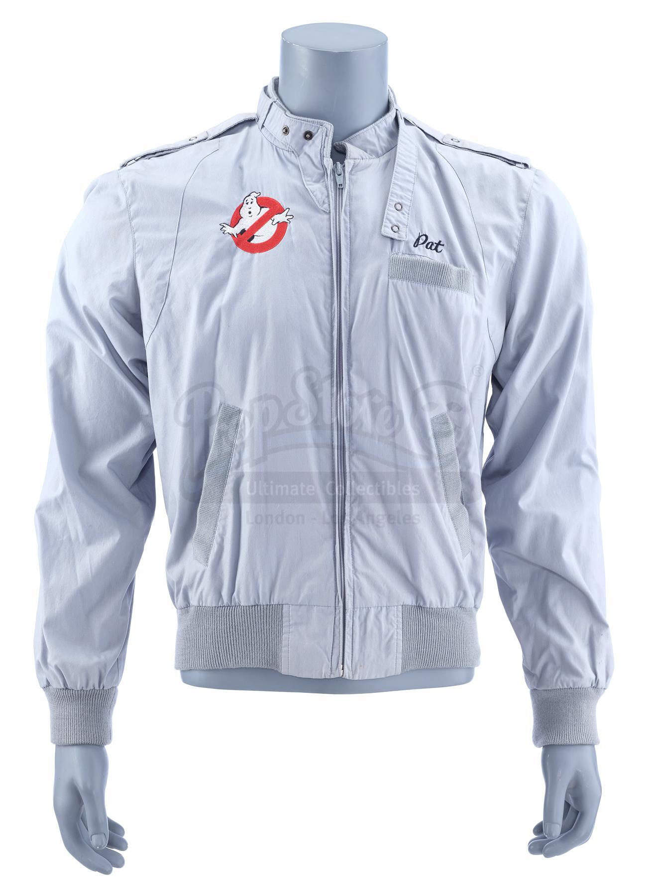 Lot # 690: GHOSTBUSTERS - Blue Crew Bomber Jacket