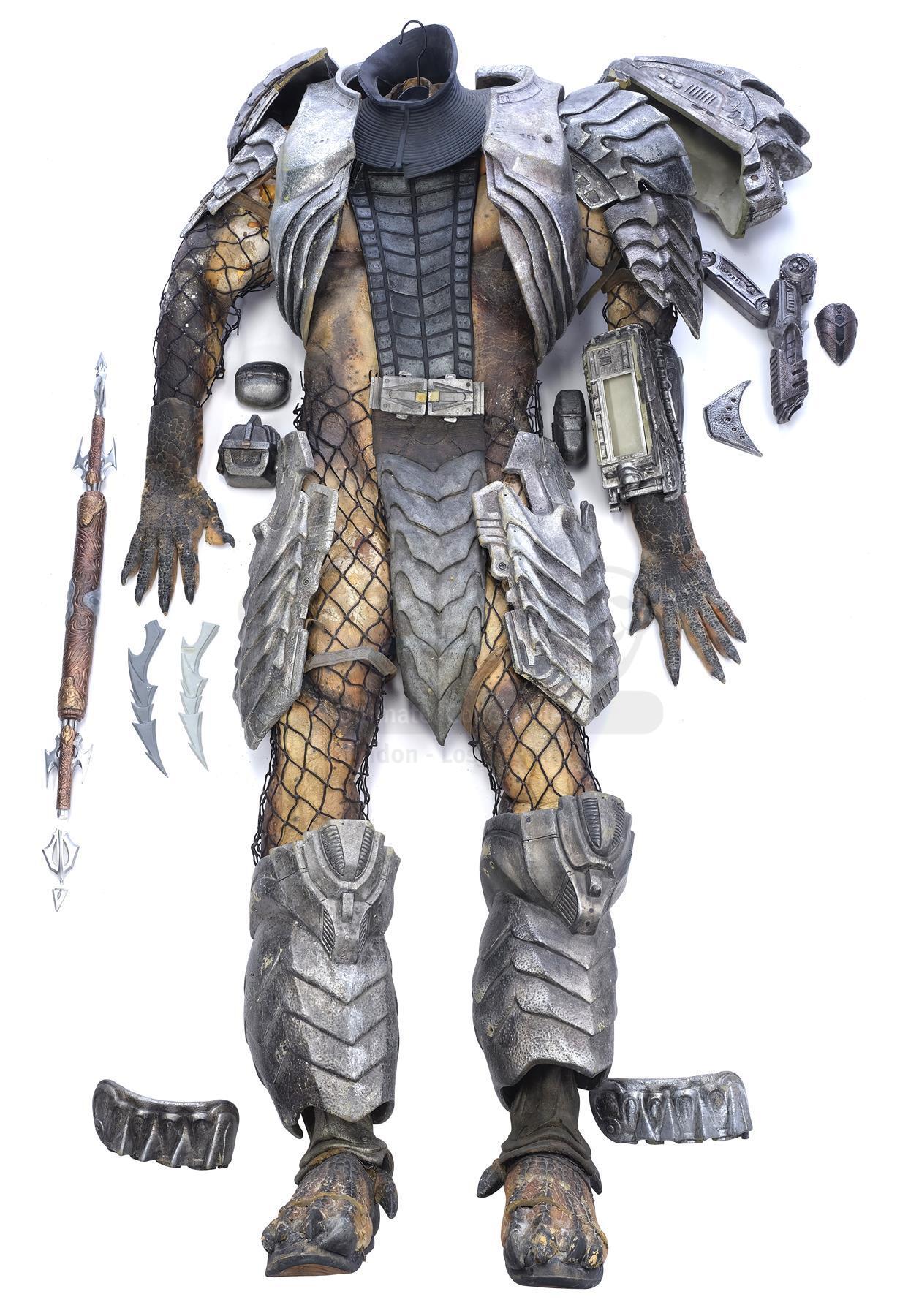 Lot # 18: AVP: ALIEN VS. PREDATOR - Scar (Ian Whyte) Predator Costume