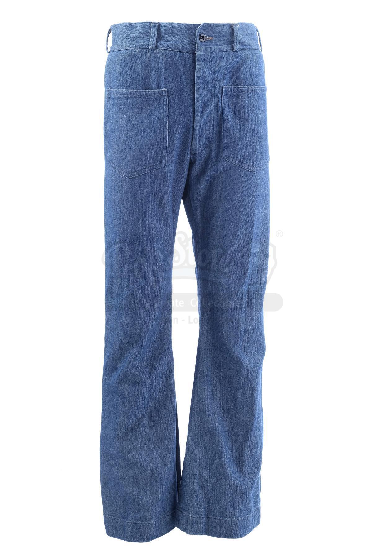 Lot # 1005: THE SAND PEBBLES - Jake Holman's (Steve McQueen) Jeans - Image 2 of 11