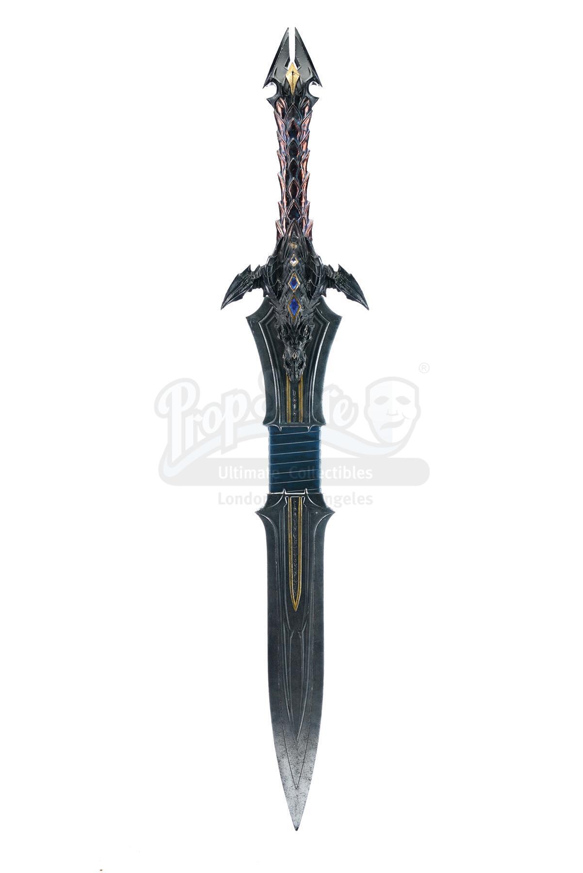 Lot # 414: WARCRAFT - Lothar's (Travis Fimmel) Sword