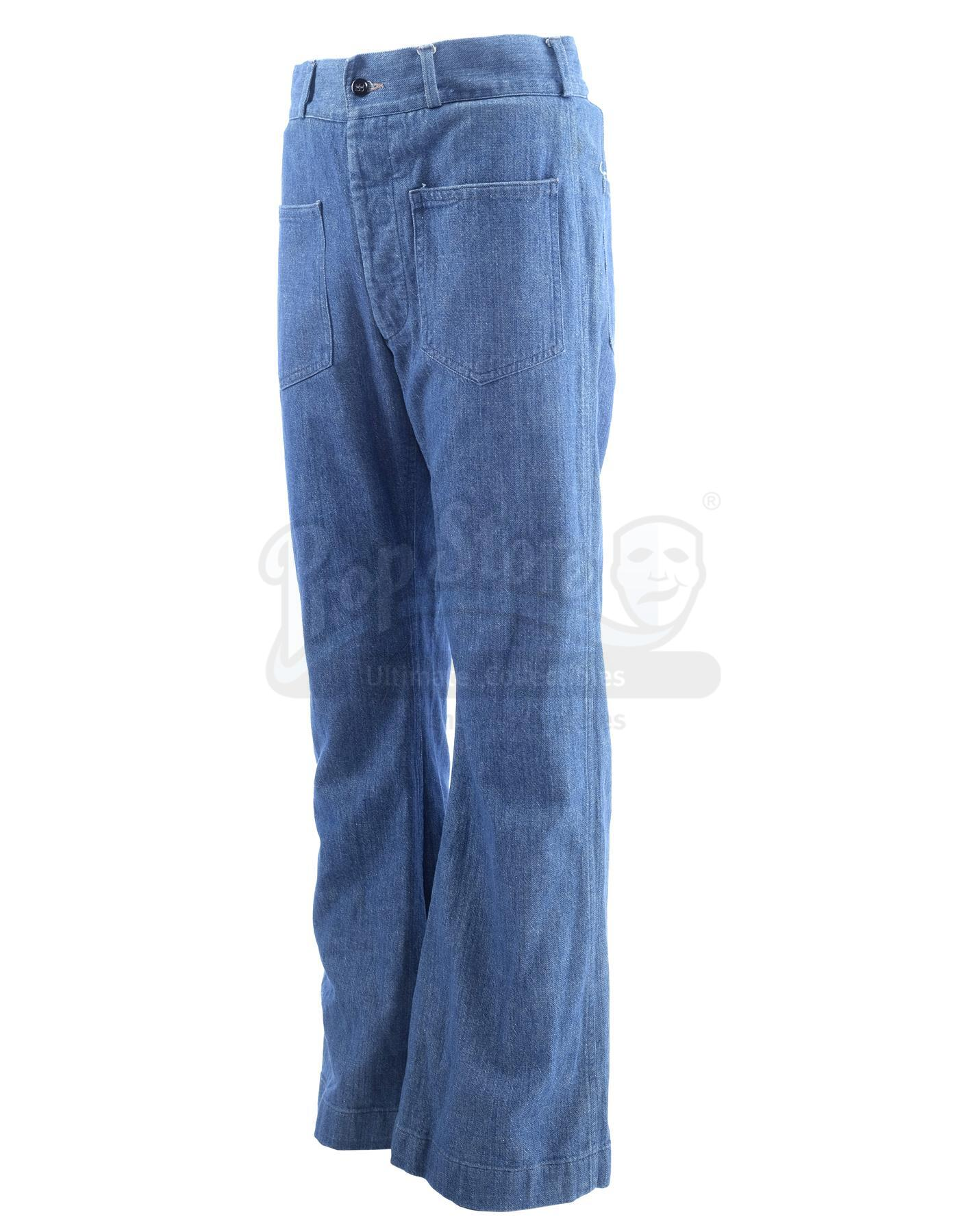 Lot # 1005: THE SAND PEBBLES - Jake Holman's (Steve McQueen) Jeans - Image 4 of 11