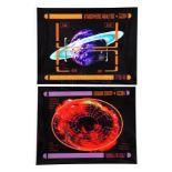 Lot # 1099: STAR TREK: INSURRECTION - PADD Planetary Graphics