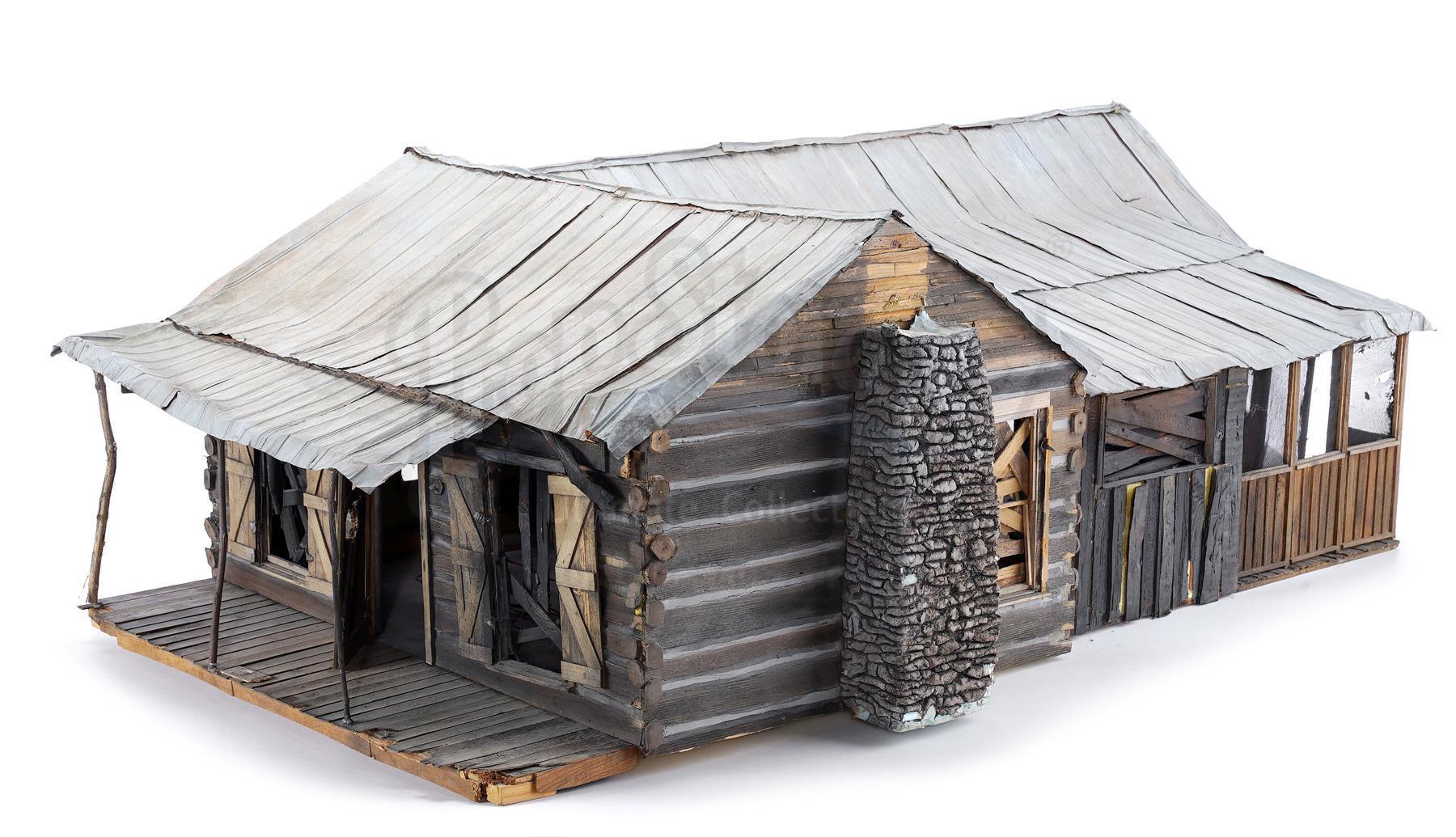 Lot # 74: EVIL DEAD II - Cabin Model Miniature