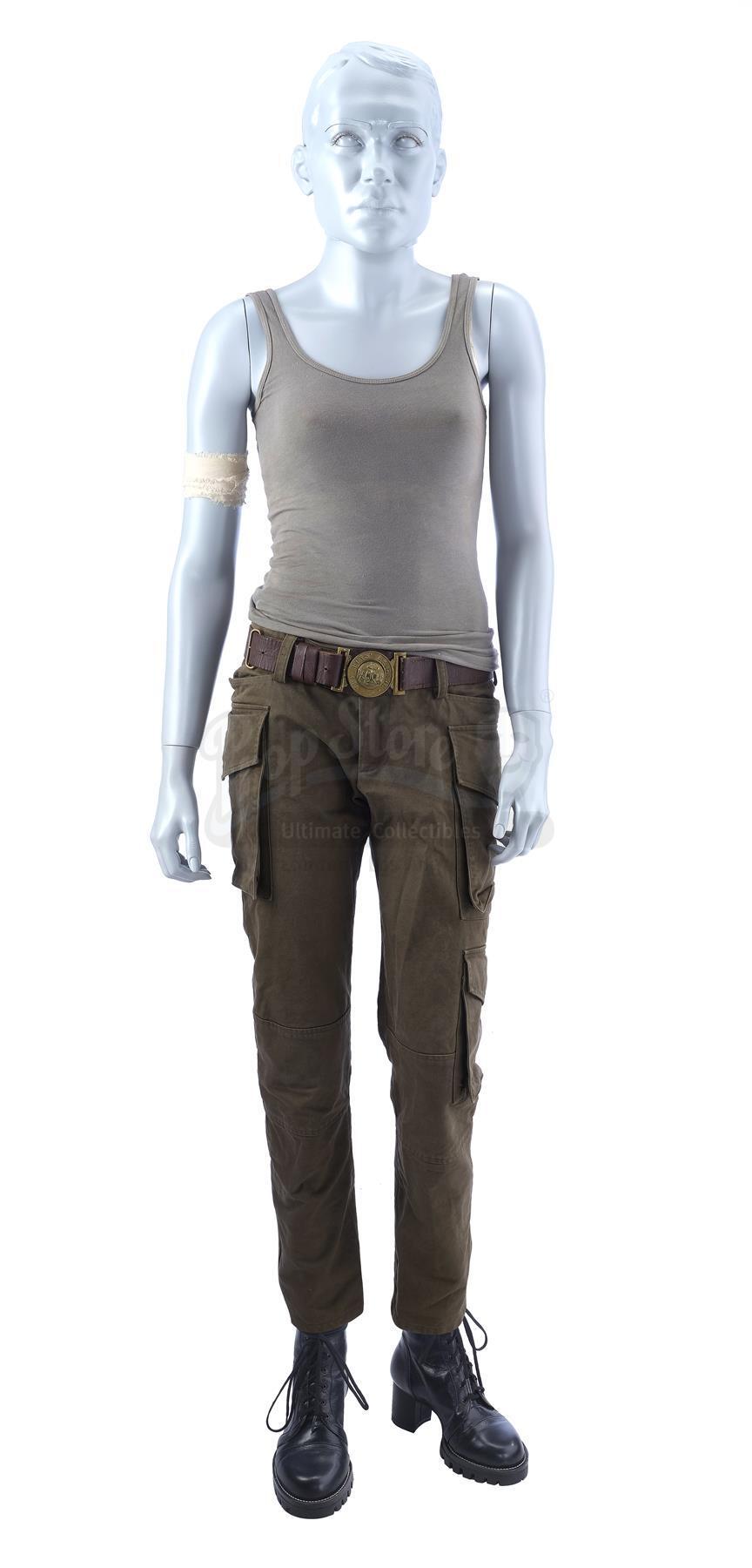 Lot # 384: TOMB RAIDER - Lara Croft's (Alicia Vikander) Costume
