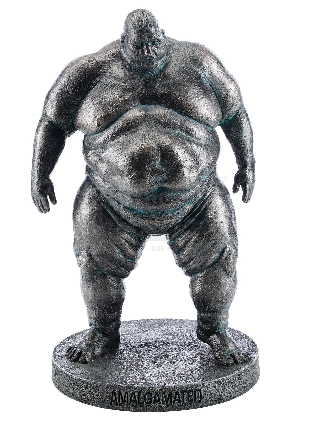 "Lot # 1355: X-MEN ORIGINS: WOLVERINE - Fred ""Blob"" Dukes (Kevin Durand) Design Maquette"