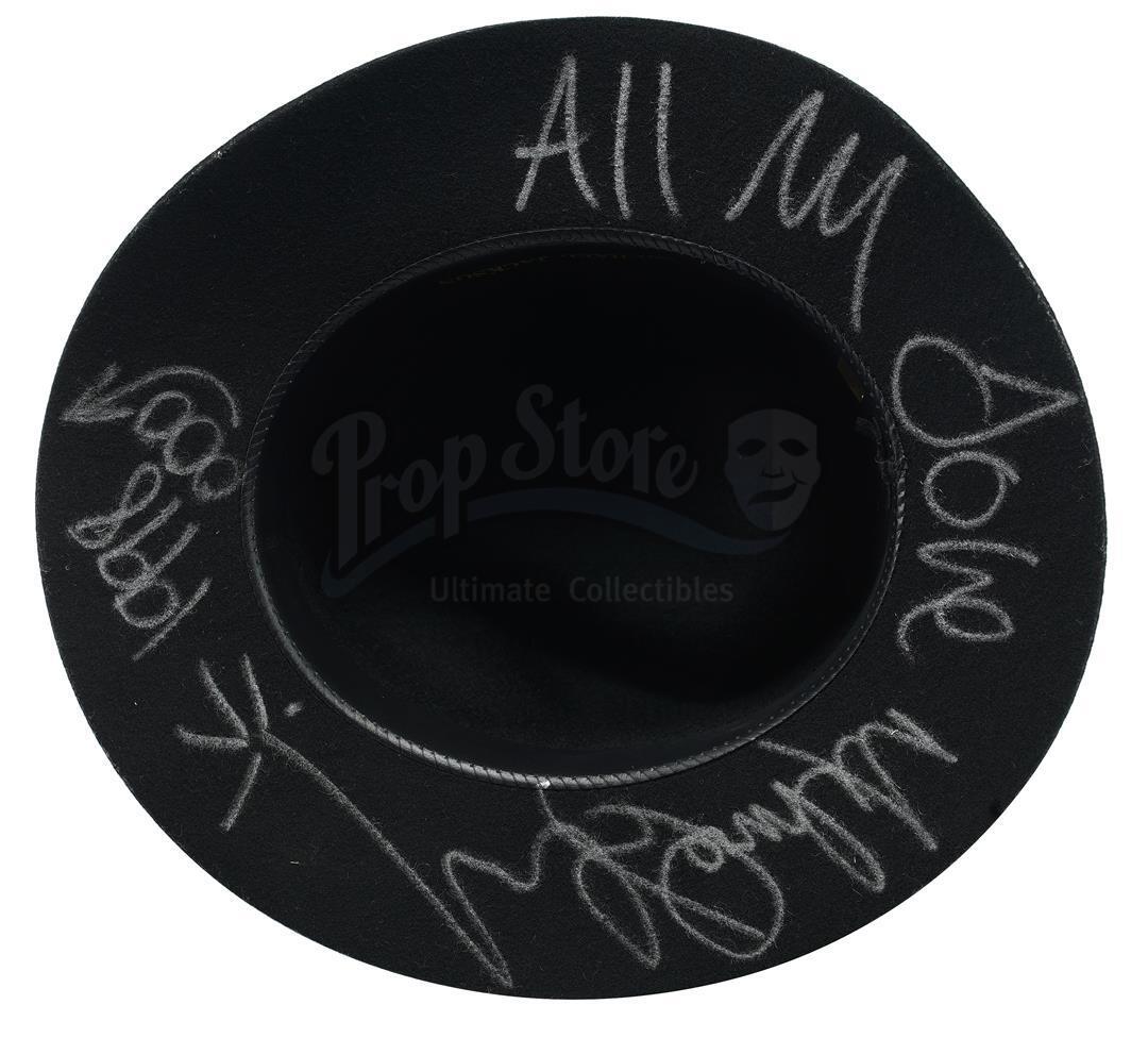 Lot # 881: MEN IN BLACK 3 (2012) - Michael Jackson-Autographed Fedora