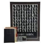 Lot # 1012: SHOOT THE MOON - Script, Production Paperwork, and Film Crew Poster