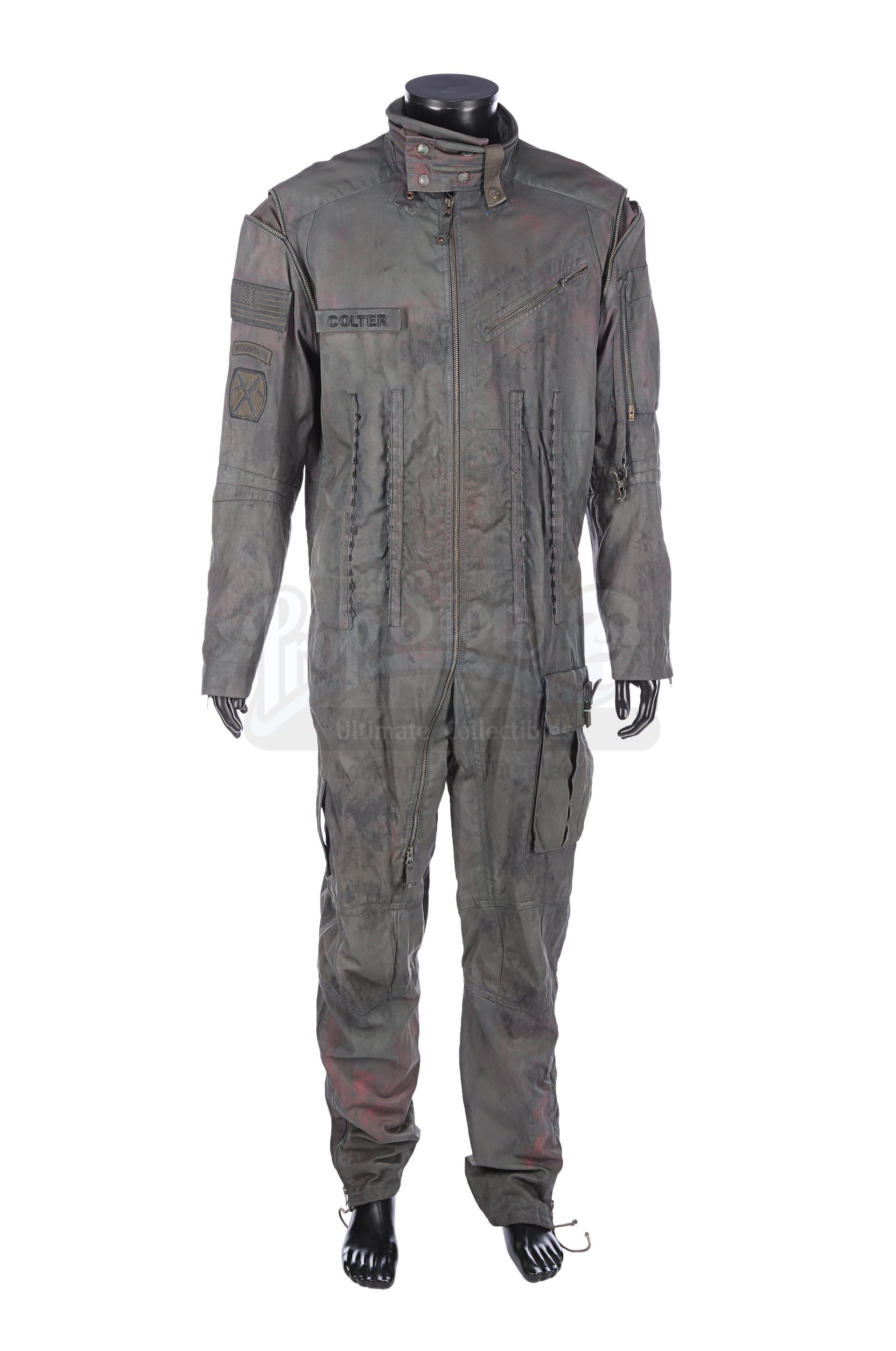 Lot # 1035: SOURCE CODE - Colter Stevens Stunt Flight Suit