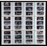 Lot # 997: ROCKY III - 12 Pages of Hand-Drawn Storyboard Artwork