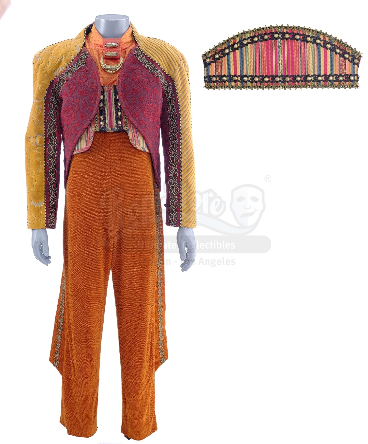 Lot # 249: STAR TREK: DEEP SPACE NINE - Leck the Eliminator's (Hamilton Camp) Costume
