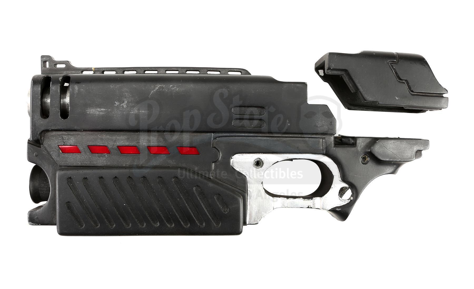 Lot # 802: JUDGE DREDD - Lawgiver Pistol Components